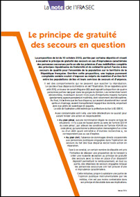 Note : Le principe de gratuité des secours en question